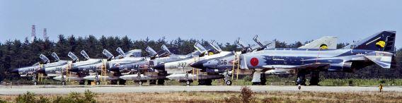 306 Sqn F-4EJ Komatsu 1986