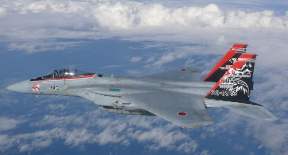 201sqn F-15J 60th anniversary