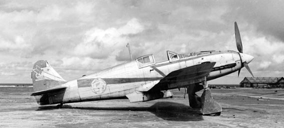 Ki-61 at Ashiya