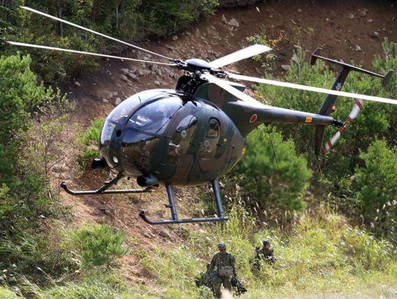 JGSDF 6thAvSqn OH-6D