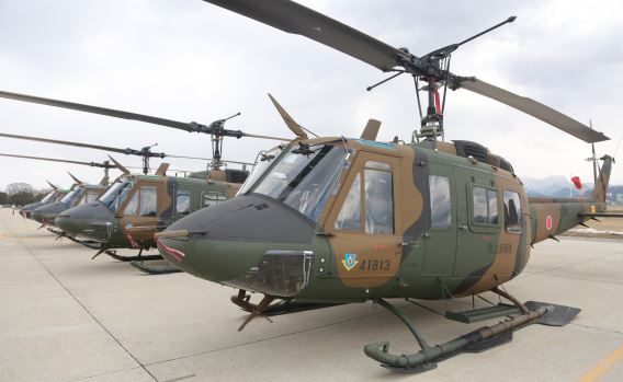 JGSDF 6th Sqn UH-1J