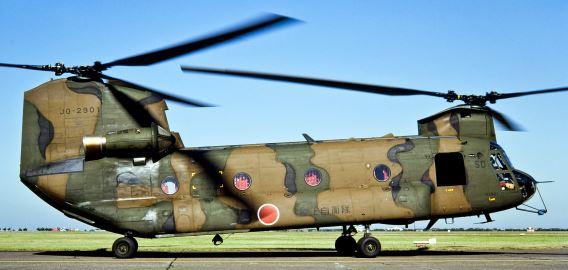 CH-47J SD Kisarazu Oct87