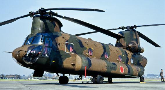 CH-47J Tachikawa Nov89