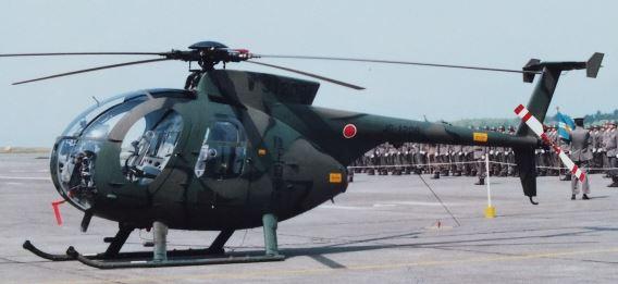 JGSDF OH-6D Takayubaru