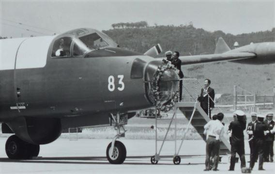 P-2J final flight (2)