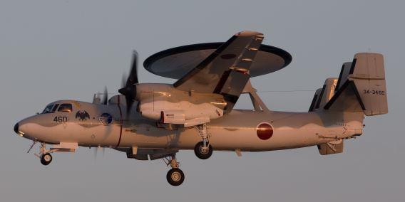 JASDF E-2C Naha