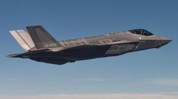 JASDF F-35A first flight