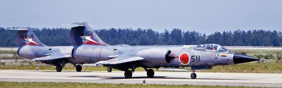F-104J 207Sqn 1982