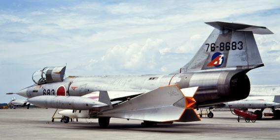 F-104J 205 Sqn Del Mar target
