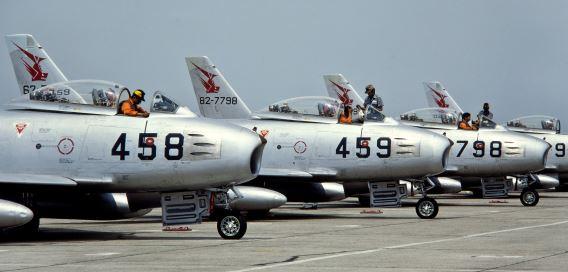 F-86F 8Sqn JASDF
