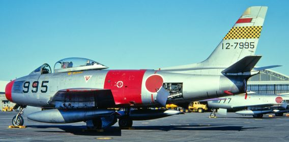 F-86F 1st Sqn JASDF