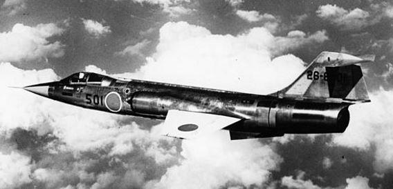 First F-104J