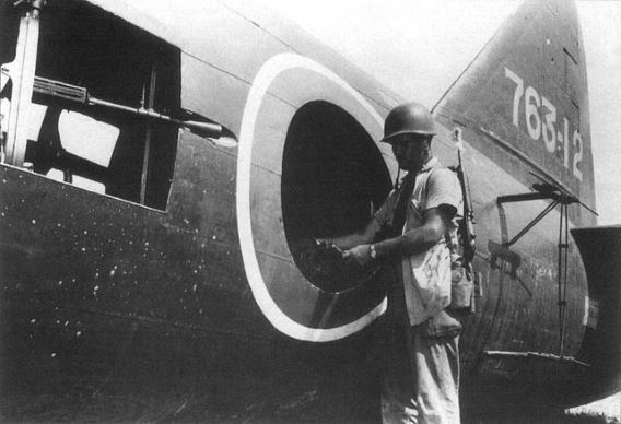 G4M rear fuselage