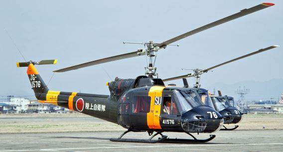 JGSDF UH-1B Utsunomiya