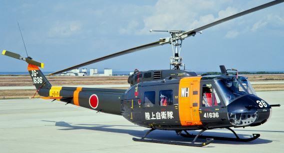 JGSDF UH-1H Tsuiki