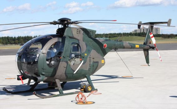 JGSDF Eastern Army Helicopter Sqn OH-6D