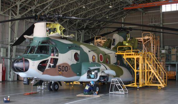 JASDF Iruma CH-47J