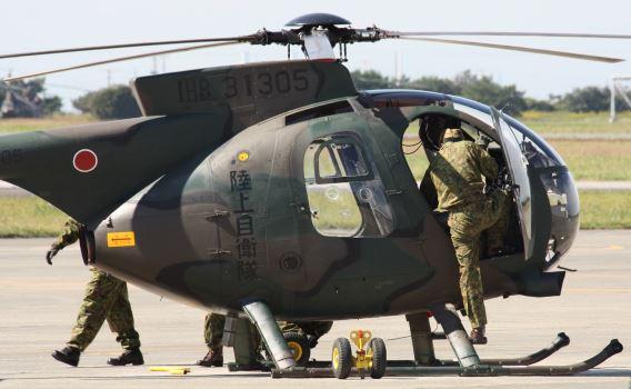 JGSDF 102 Sqn OH-6D
