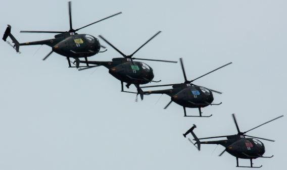 JGSDF Sky Hornets team (2)