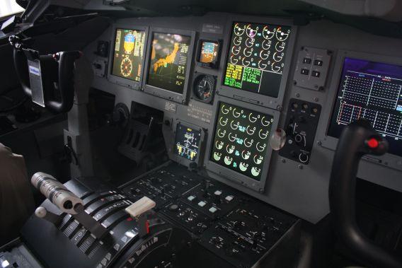 US-2 cockpit