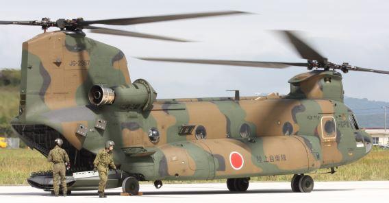 CH-47JA Tateyama
