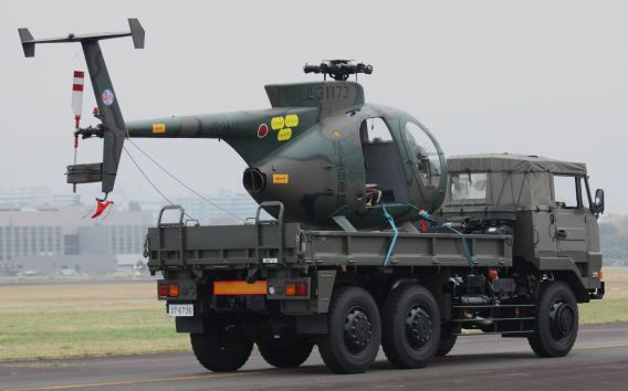 oh-6d on trailer