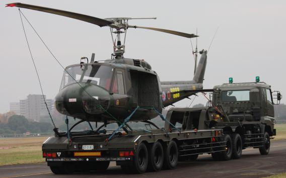 ih-1 on trailer