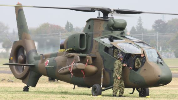 JGSDF Eastern Helicopter Sqn OH-1