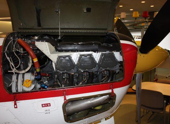 Fuji T-3 engine
