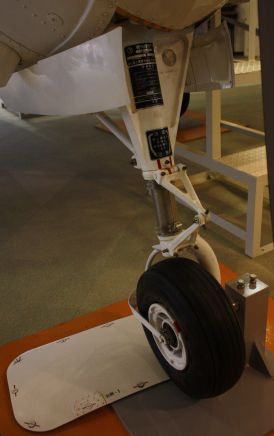 Fuji T-3 nosewheel