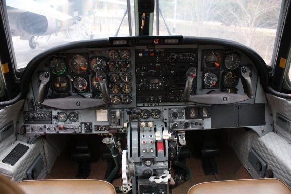 LR-1 instrument panel
