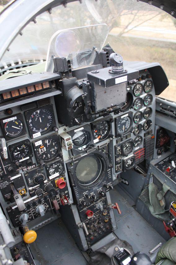 F-1 cockpit
