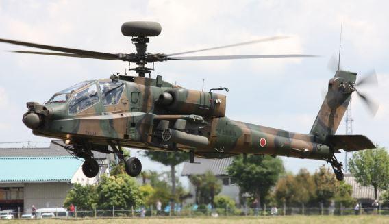 JGSDF AH-64 Kasumigaura