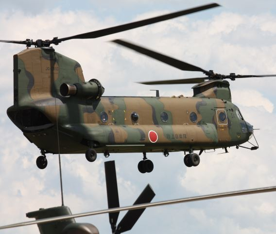 JGSDF CH-47 Kasumigaura