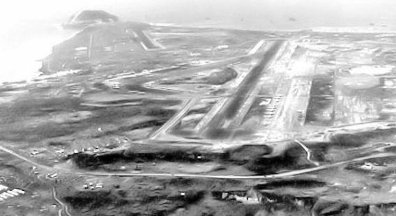 Iwo Jima airfields 1945