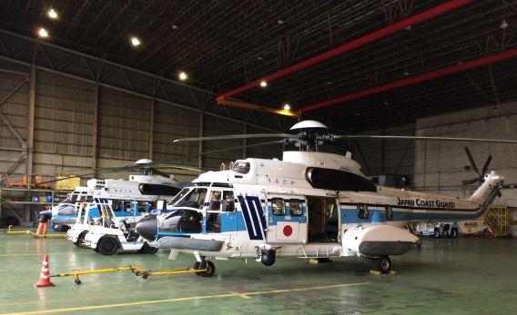 JCG Haneda hangar