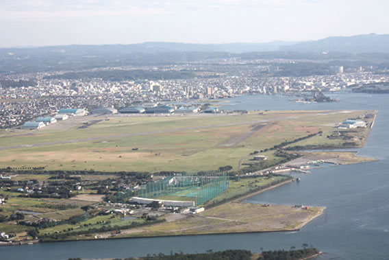 Airfield at Kisarazu, Chiba Prefecture
