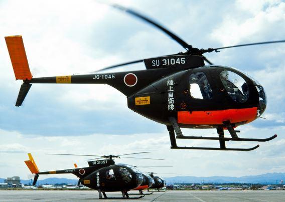 JGSDF OH-6J Utsunomiya