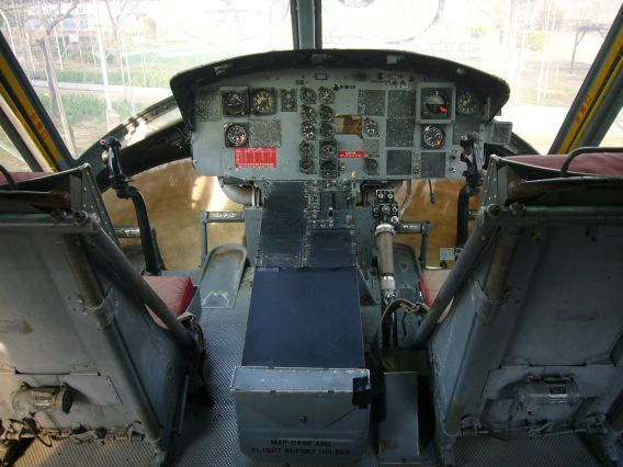 Herb World Akita UH-1H cockpit