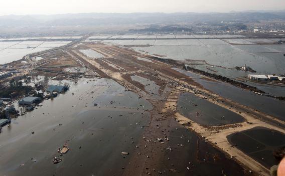 Sendai Airport tsunami