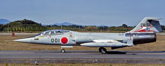 F-104DJ 207Sqn 1984