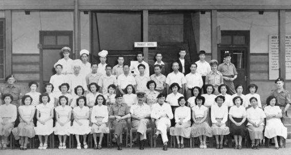 Transit Hotel Iwakuni 1953