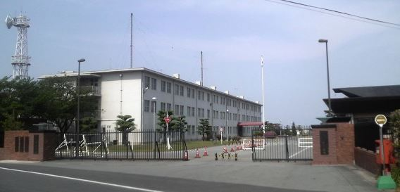 JGSDF Akeno main gate