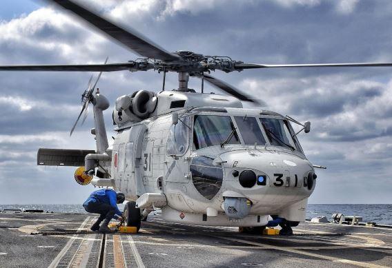 cross-decking SH-60K