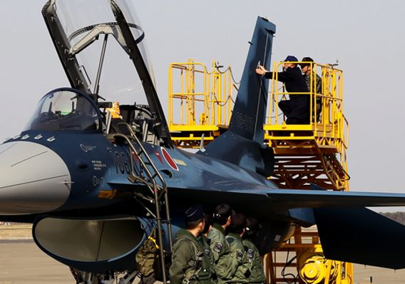 First repaired F-2B