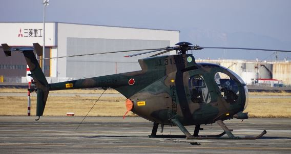 10th AvSqn JGSDF OH-6D