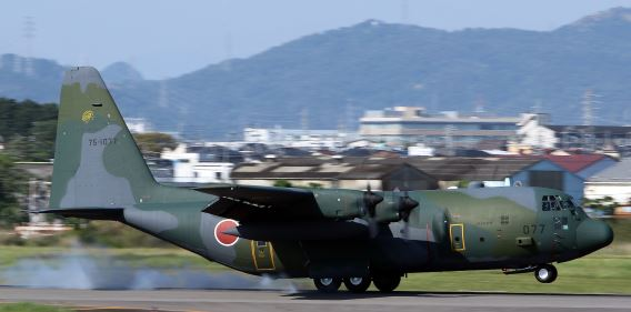 401st Sqn C-130H JASDF