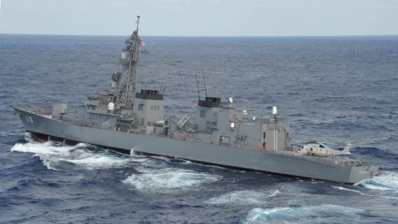 JMSDF DD-113 Sazanami