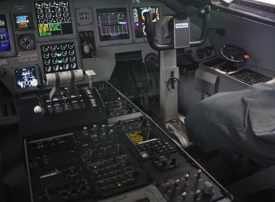 US-2 copilotseat