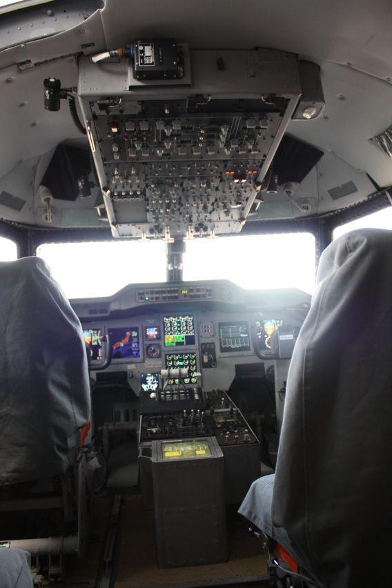 US-2 flightdeck